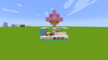 Ice Cream Stand Minecraft Map & Project
