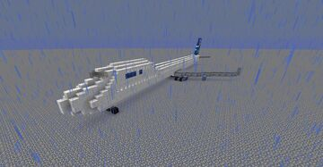 airbus A370-200 FlnnAir Minecraft Map & Project
