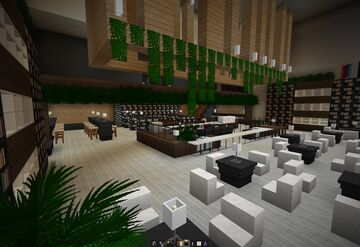 Delicatessen/Cafe - Park Hyatt Tokyo Minecraft Map & Project
