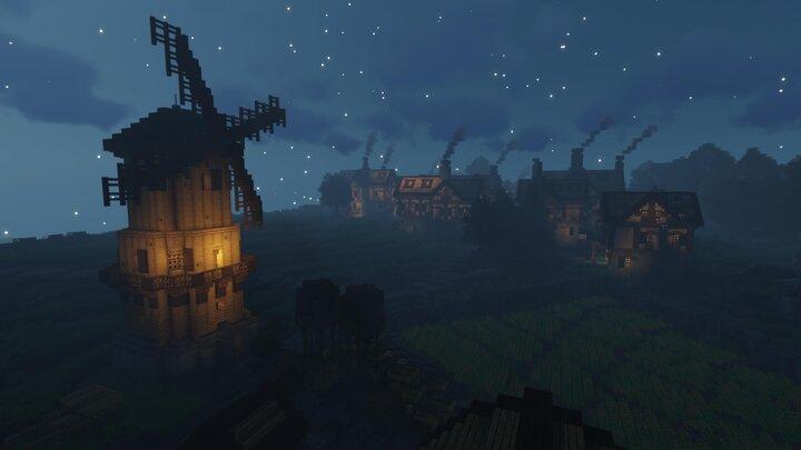 Setton at night