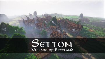 Setton: Village of Breeland Minecraft Map & Project