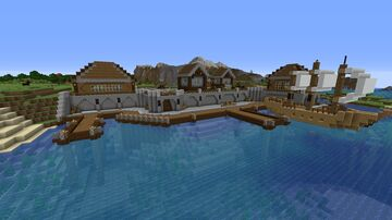 The Docks Minecraft Map & Project