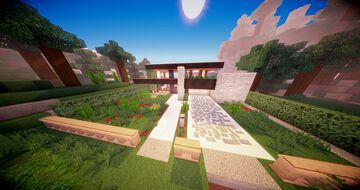 Basic Modern House Minecraft Map & Project