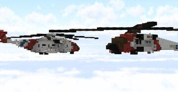 USCG sea stallion and jayhawk Minecraft Map & Project