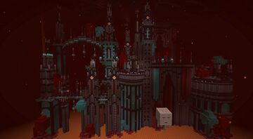 Piglin Fortress Minecraft Map & Project