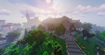 Faculté d'Architecture de Liège Minecraft Map & Project