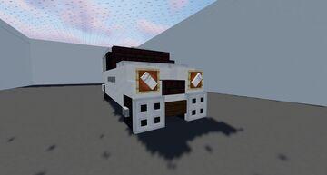 Mercedez Benz Vito Minecraft Map & Project