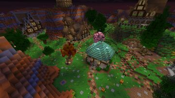 Application Almbum Minecraft Map & Project