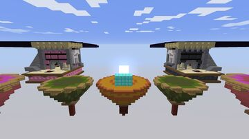 PopularMMOS Lucky Block Bedwars Map Minecraft Map & Project