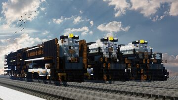 Union Pacific Heritage Steam Fleet Minecraft Map & Project