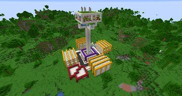 Mending Farm! Tutorial (+Download) Minecraft Map & Project