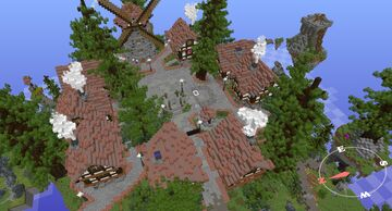 Skyrealms.games 2017 Main Hub/Spawn Map (1.12.2) Minecraft Map & Project