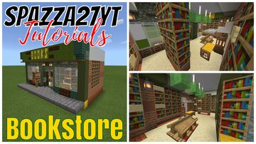 'Small Shops #19 Bookstore Minecraft Map & Project