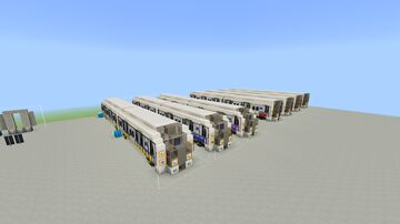LCRT Metro - Rolling Stock Minecraft Map & Project