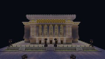 GATOB (State academic Opera and ballet theater) Minecraft Map & Project