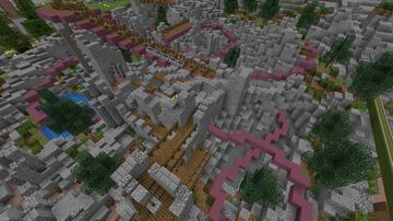 Adventure Heights Trackless RollerCoaster Minecraft Map & Project