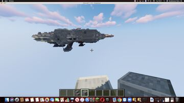 Star Wars Millenium Falcon 2:1 scale. Tutorial by Elcestrus Minecraft Map & Project