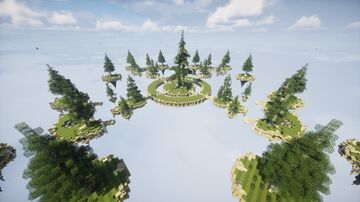 Skywars Map - Birch Pines Minecraft Map & Project