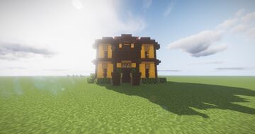 Mediterranean style house Minecraft Map & Project