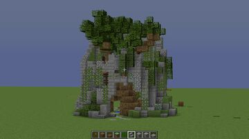 Overgrown Tower Ruins Minecraft Map & Project