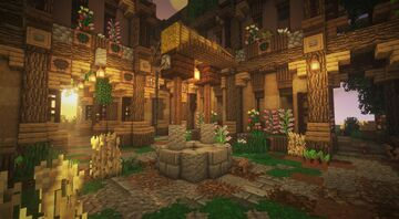 Flower Cottage Minecraft Map & Project