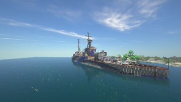 Battleship Map By Jajeja Minecraft Map & Project