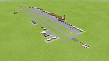 Harling air base (micro scaled map) Minecraft Map & Project