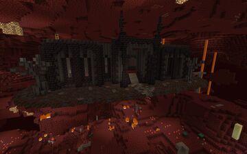 Black Mansion | Nether Hub Minecraft Map & Project