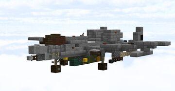 A-10 Warthog Minecraft Map & Project
