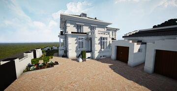 Danish Seafront Mansion | TRS | Slotsalleen 1, 2930 Klampenborg, Denmark Minecraft Map & Project