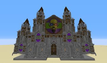 WIP - Mistah J's Arcadia Castle Final Minecraft Map & Project