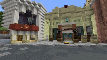 Revenge of the Mummy Minecraft Map & Project
