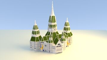 INC Church Central Minecraft Map & Project