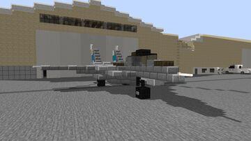 F-14 Tomcat 1:1 Minecraft Map & Project