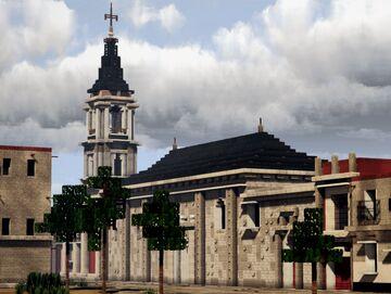 Templo de san Felipe neri, el Viejo, Ciudad de Mexico Minecraft Map & Project