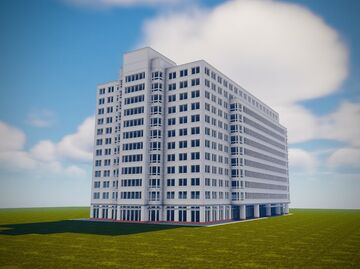 Churchill Tower (Dallas, TX) Minecraft Map & Project