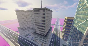 moden office building Minecraft Map & Project