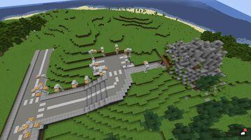 Volcano Modern Redstone Smart house(update) Minecraft Map & Project