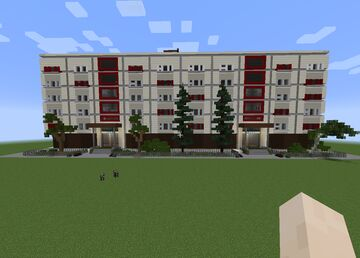 PANEL HOME APARTMENT | SOVIET RESIDENCE | CUSTOMIZABLE INTERIOR by Anderbest Minecraft Map & Project
