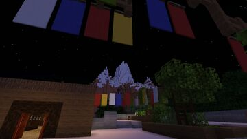Expedition Everest a Minecraft roller coaster Minecraft Map & Project
