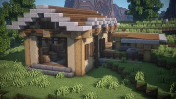 Simple barn Minecraft Map & Project