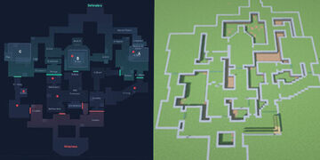 Valorant Map - Haven Minecraft Map & Project