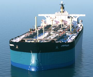 Esso Atlantic Supertanker Minecraft Map & Project