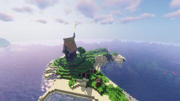 Small Médiéval House Minecraft Map & Project