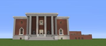 Ives Main Library: New Haven, CT Minecraft Map & Project