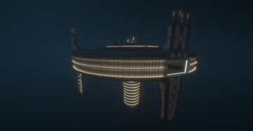 A Space Station - Inspired by the Vaiken SpaceDock from Star Wars Minecraft Map & Project