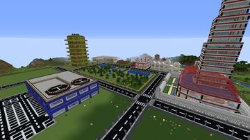 Utopia 2.0 - The Birth of a New City World Minecraft Map & Project