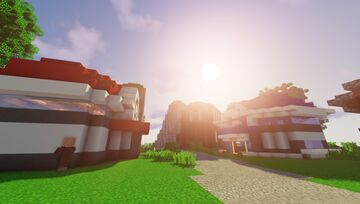 Project PokeAegis  (Biggest Custom Pokemon Map/Pixelmon Server) Minecraft Map & Project