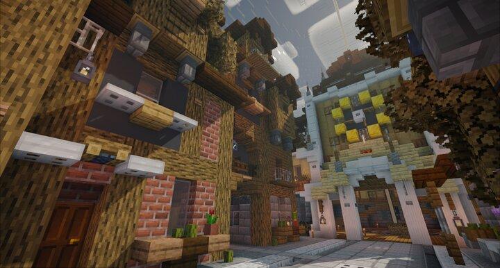 Popular Map : SteamPunk City