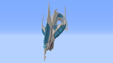 Stardust Dragon (creative project) Minecraft Map & Project
